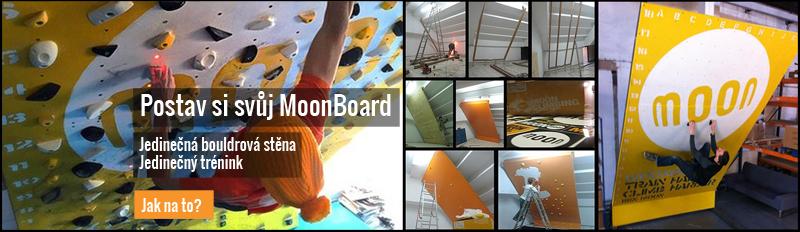 Postav si svůj MoonBoard a vyzkoušej jedinečný systém tréninku