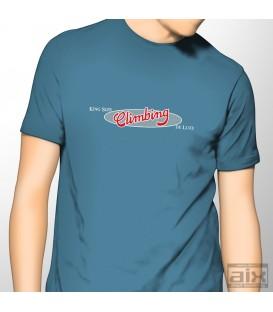 AIX menT-shirt climbing blue  S-XL