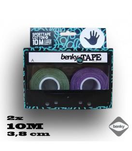 Benky tapes 3,8cm green/violet