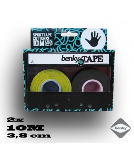 Benky tapes 3,8cm yellow/black