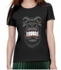 AIX  Women T-shirt Gorilla black S-XL