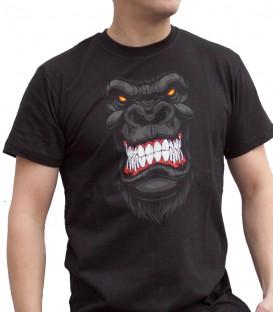AIX  pánské triko Gorila černé S-XL