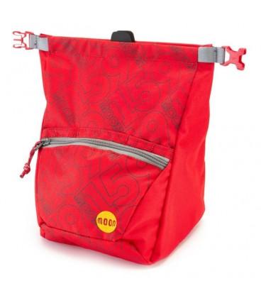 Moon Bouldering Chalk Bag 159 red