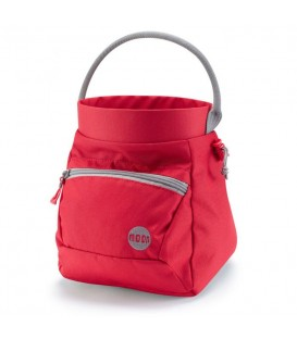 Moon Deluxe Bouldering Chalk Bucket red