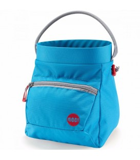 Moon Deluxe Bouldering Chalk Bucket blue