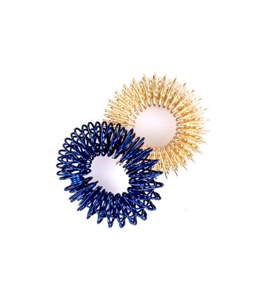 Fingerpocket blue/gold