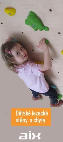 Dětské chyty a stěna